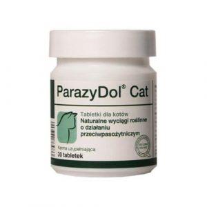 ZOOSHOP.ONLINE - Zoopreču internetveikals - Barības piedevas - DOLVIT ParazyDol Cat 30 tab