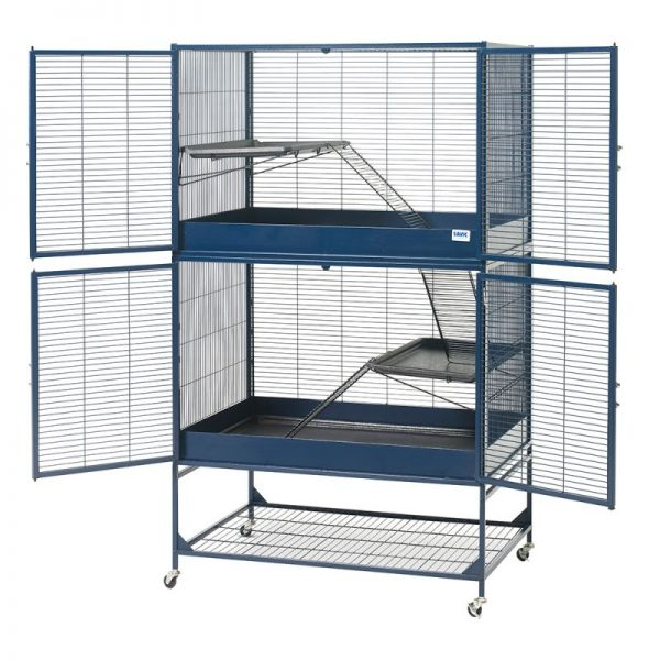 ZOOSHOP.ONLINE - Интернет-магазин зоотоваров - SAVIC Royal Suite 95 клетка для крыс и хорьков