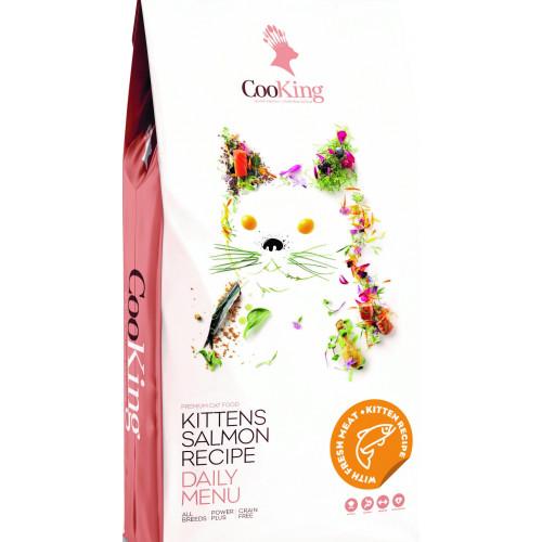 ZOOSHOP.ONLINE - Zoopreču internetveikals - Sausā barība kaķēniem ar putnu gaļu CooKing Kitten 2 kg