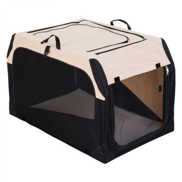 ZOOSHOP.ONLINE - Интернет-магазин зоотоваров - Cкладная тканевая переноска для собак Hunter Transportbox Outdoor 91 см