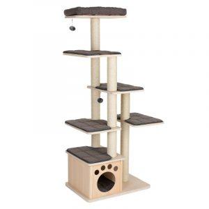 ZOOSHOP.ONLINE - Интернет-магазин зоотоваров - Домик для кошек Modern Living La Tour серый H 170 см