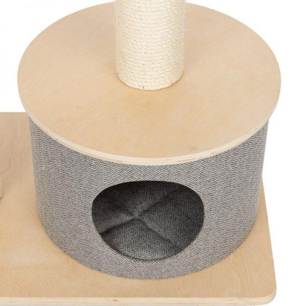 ZOOSHOP.ONLINE - Интернет-магазин зоотоваров - Домик для кошек Modern Living Amora серый H 90 см