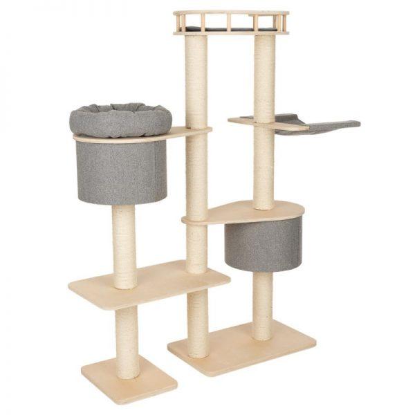 ZOOSHOP.ONLINE - Интернет-магазин зоотоваров - Домик для кошек Modern Living Ferrara серый H 162 см