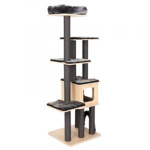 ZOOSHOP.ONLINE - Интернет-магазин зоотоваров - Домик для кошек Modern Living Chelsea темно серый H 185 см