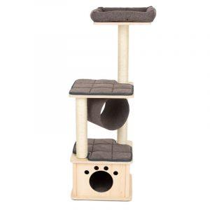 ZOOSHOP.ONLINE - Интернет-магазин зоотоваров - Домик для кошек Modern Living Iona серый H 116 см