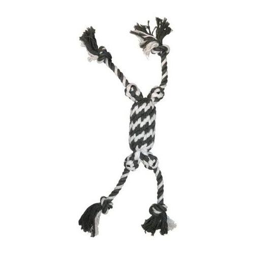 ZOOSHOP.ONLINE - Zoopreču internetveikals - Rotaļlieta suņiem, smaganu masāžai, virve, Capac kilao 50 cm
