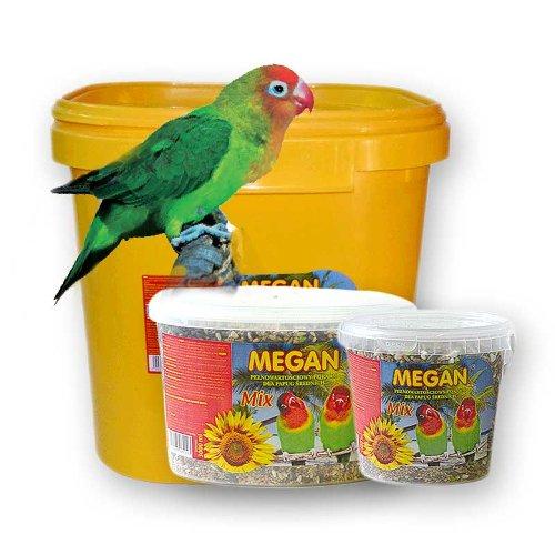 ZOOSHOP.ONLINE - Zoopreču internetveikals - Megan pamatbarība vidēja lieluma papagaiļiem 650 gr