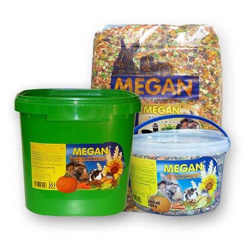 ZOOSHOP.ONLINE - Интернет-магазин зоотоваров - Полнорационный корм для грызунов Megan 19,25 кг