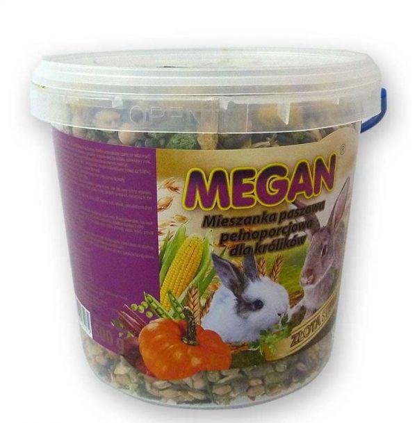 ZOOSHOP.ONLINE - Интернет-магазин зоотоваров - Полнорационный корм для кроликов Megan 500 гр