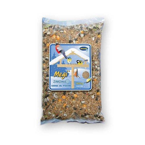 ZOOSHOP.ONLINE - Zoopreču internetveikals - Ziemas barība savvaļas putniem Megan Megi Winter 1 kg