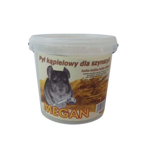 ZOOSHOP.ONLINE - Интернет-магазин зоотоваров - Песок для шиншилл Megan Dust bath 1,5 кг