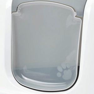 ZOOSHOP.ONLINE - Zoopreču internetveikals - Durvis kaķu tualetēm NESTOR CORNER