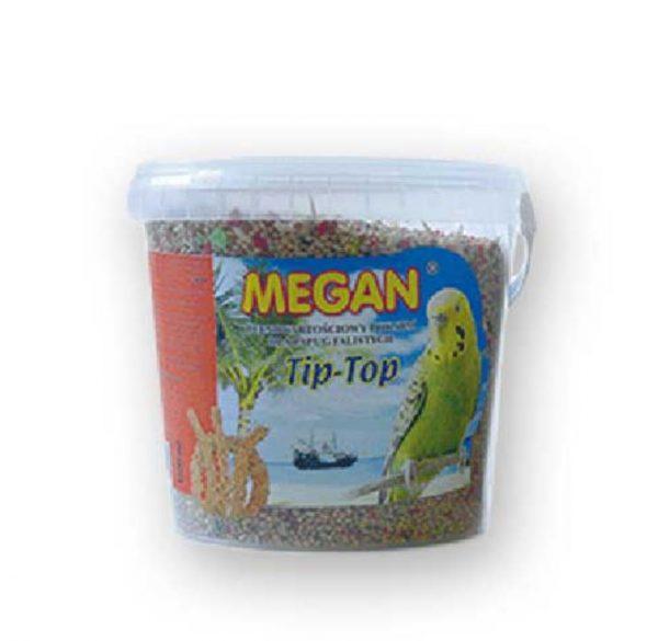 ZOOSHOP.ONLINE - Интернет-магазин зоотоваров - Основной корм Megan для волнистых попугаев 770 гр