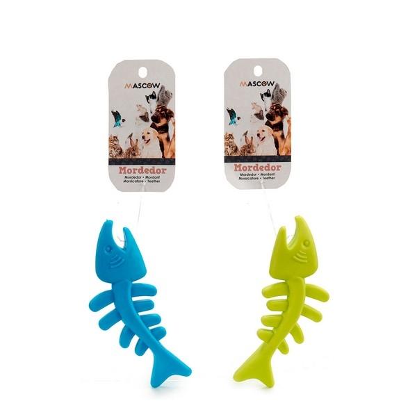 ZOOSHOP.ONLINE - Интернет-магазин зоотоваров - Цветная игрушка для щенков 13 х 2 х 5 см