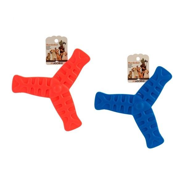 ZOOSHOP.ONLINE - Интернет-магазин зоотоваров - Активная игрушка для собак, бумеранг 19 х 1,5 х 19 см