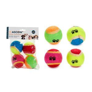 ZOOSHOP.ONLINE - Интернет-магазин зоотоваров - Комплект мячей для собак 4 шт.