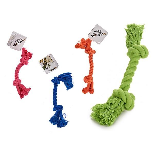 ZOOSHOP.ONLINE - Интернет-магазин зоотоваров - Игрушка для собак Веревка, цветная 3 х 3 х 20 см