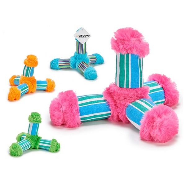 ZOOSHOP.ONLINE - Zoopreču internetveikals - Auduma rotaļlieta suņiem 16 x 21 x 21 cm