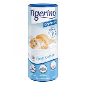 ZOOSHOP.ONLINE - Zoopreču internetveikals - Dezodorants kaķu tualetēm Tigerino Fresh Coton