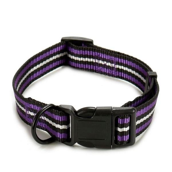ZOOSHOP.ONLINE - Интернет-магазин зоотоваров - Ошейник с цветным дизайном для собак 2,1 x 1,0 x 21 см