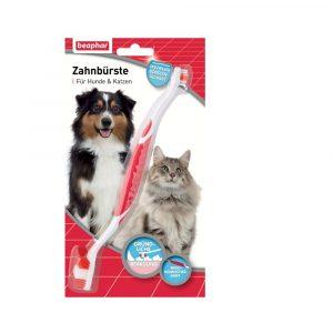 ZOOSHOP.ONLINE - Zoopreču internetveikals - Beaphar Zobu birste mājdzīvniekiem