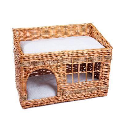ZOOSHOP.ONLINE - Интернет-магазин зоотоваров - Плетёный домик для кошек