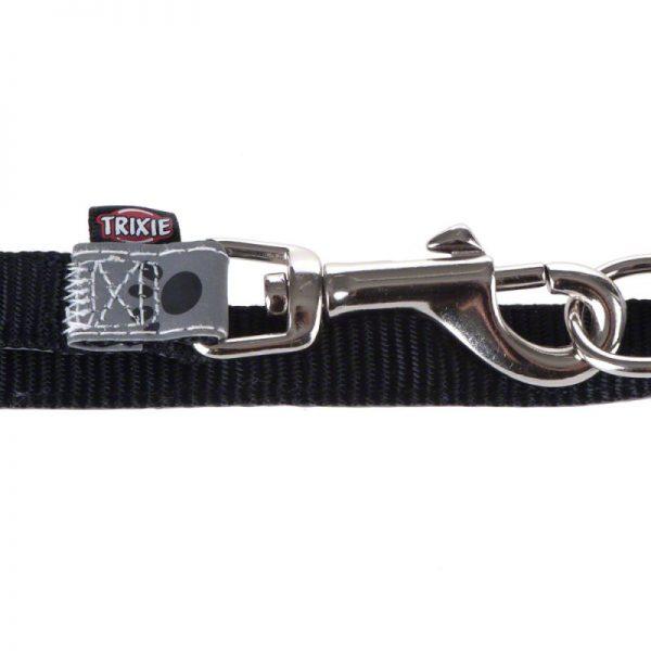 ZOOSHOP.ONLINE - Интернет-магазин зоотоваров - Trixie отражающий поводок Silver Reflect 200 cm / 20 mm