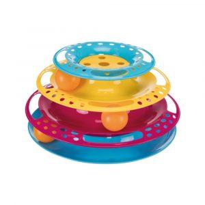 ZOOSHOP.ONLINE - Zoopreču internetveikals - Trixie Play Tower interaktīvā rotaļlieta kaķiem