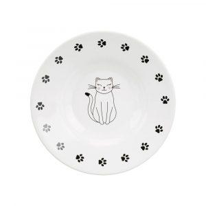 ZOOSHOP.ONLINE - Интернет-магазин зоотоваров - Миска керамическая Trixie для кошек 200 ml