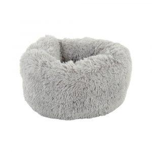 ZOOSHOP.ONLINE - Интернет-магазин зоотоваров - Кровать для кошек и маленьких пород собак Mochi (светло-серая)
