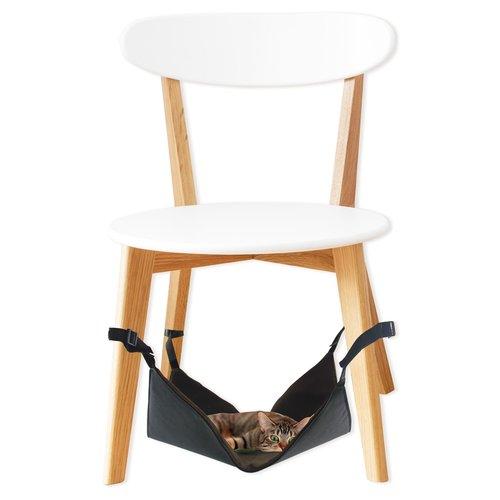 ZOOSHOP.ONLINE - Zoopreču internetveikals - Kaķu šūpuļtīkls uz krēsla kājam 40 x 40 x 1 cm
