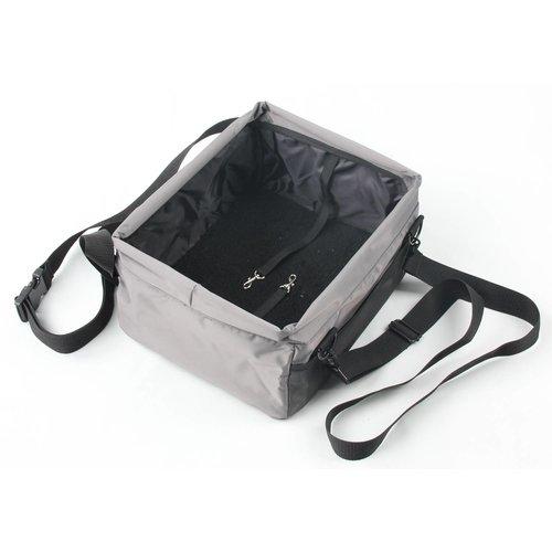 ZOOSHOP.ONLINE - Zoopreču internetveikals - Suņu soma priekšējam sēdeklim 35 x 28 x 20 cm