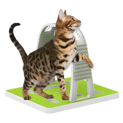 ZOOSHOP.ONLINE - Интернет-магазин зоотоваров - Интерактивная массажная игрушка для кошек Grooming Arch
