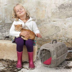 ZOOSHOP.ONLINE - Zoopreču internetveikals - Konteiners kaķu, suņu un mazu dzīvnieku pārvadāšanai