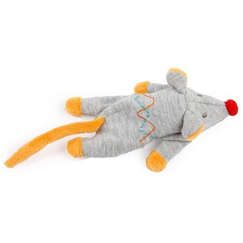 ZOOSHOP.ONLINE - Zoopreču internetveikals - Kaķu rotaļlieta Kitty plīša lielā pele ar kaķumētru 20cm