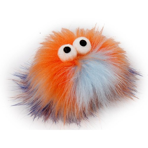 ZOOSHOP.ONLINE - Zoopreču internetveikals - Rotaļlieta kaķiem Monster FLUFFY BALL