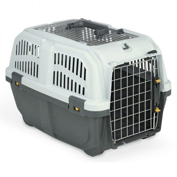 ZOOSHOP.ONLINE - Zoopreču internetveikals - Konteiners kaķu, suņu un trušu pārvadāšanai Skudo 2 Open IATA 55x36x35 cm