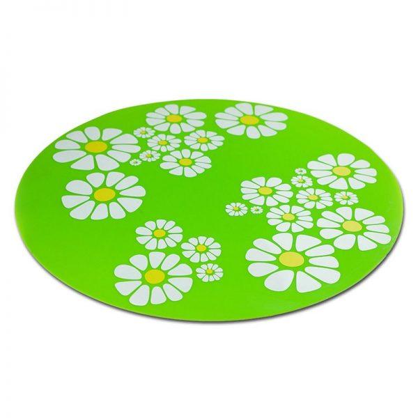 ZOOSHOP.ONLINE - Zoopreču internetveikals - Silikona paklājs bļodām un strūklakām 35,5 cm - zaļš