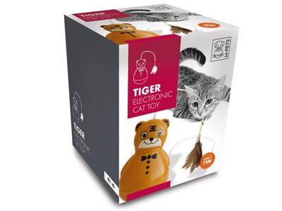 ZOOSHOP.ONLINE - Интернет-магазин зоотоваров - Игрушка для кошек, тигр M-PETS