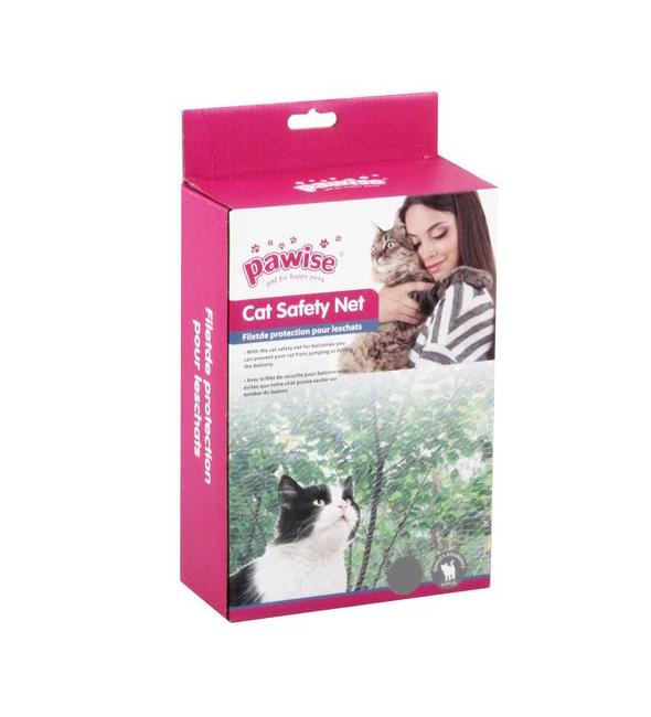 ZOOSHOP.ONLINE - Интернет-магазин зоотоваров - Защитная балконная сетка для кошек, прозрачная 3 x 2 м