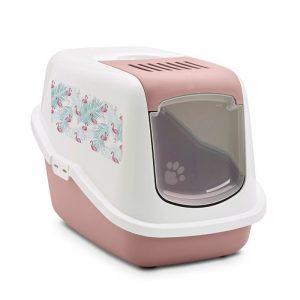 """ZOOSHOP.ONLINE - Интернет-магазин зоотоваров - Savic Nestor Impression """"Фламинго"""" туалет для кошек"""