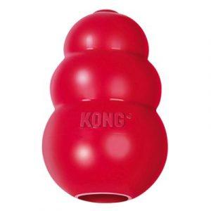ZOOSHOP.ONLINE - Zoopreču internetveikals - Rotaļlieta suņiem KONG KLASSIC RED L