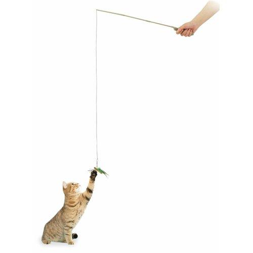 ZOOSHOP.ONLINE - Интернет-магазин зоотоваров - Игрушка для кошек, удочкa с кузнечиком
