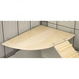 ZOOSHOP.ONLINE - Интернет-магазин зоотоваров - Полка из фанеры для клеток 40 x 40 см