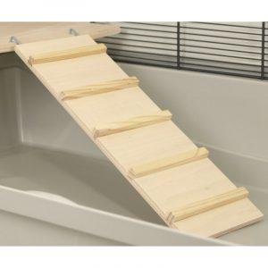 ZOOSHOP.ONLINE - Интернет-магазин зоотоваров - Деревянная лестница для клеток 17 см