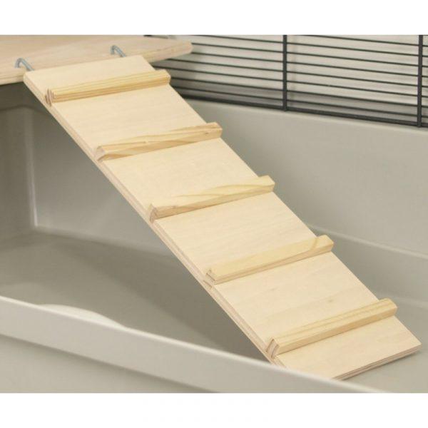 ZOOSHOP.ONLINE - Интернет-магазин зоотоваров - Деревянная лестница для клеток 42 см