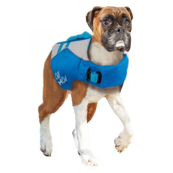 ZOOSHOP.ONLINE - Интернет-магазин зоотоваров - Спасательный жилет для поддержания плавучести собаки Chill Out 39 см