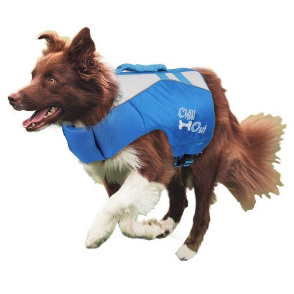 ZOOSHOP.ONLINE - Zoopreču internetveikals - Peldveste suņiem Chill Out 35,5 сm