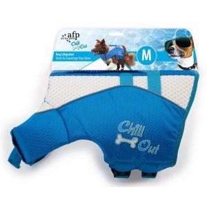 ZOOSHOP.ONLINE - Интернет-магазин зоотоваров - Спасательный жилет для поддержания плавучести собаки Chill Out 35,5 см