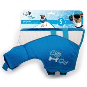 ZOOSHOP.ONLINE - Интернет-магазин зоотоваров - Спасательный жилет для поддержания плавучести собаки Chill Out 30 см